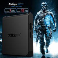 t95x Android 6. 0 Boxes 2G+ 16G Amlogic S905X OTT TV Box Quad ...