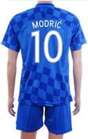 Customized 16- 17 Cheap European Cup 10 MODRIC Soccer Jersey ...