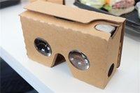 3D Google Cardboard VR Glasses V2 DIY Virtual Reality Box Ul...