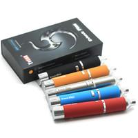 Un jour de bateau Yocan Evolve PLUS Kit original 1100mAh Evolve Vaporisateur Dry Wax Pen Vaporisateur Quartz Dual Coil E cigarettes