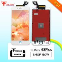 Haute qualité pour iPhone 6S Plus LCD avec écran tactile Digitizer remplacement 100% testé 5.5inch blanc noir 2 ans de garantie