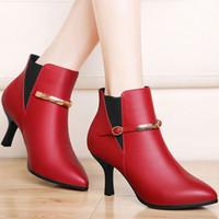 Quality Assurance Genuine Leather Women Dress Shoes Fashion ...