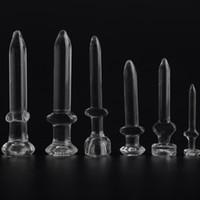 Verre Verre en verre à clous en bong Dôme Nail Oil Dab Nail La meilleure qualité 10mm 14.5mm et 18.8mm