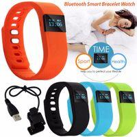 HOT TW64 bracelet intelligent Résistant à l'eau imperméable à l'eauPedometer suivi du sommeil Caractéristiques Sports extérieurs Bluetooth Smart Watch pour Android ios