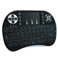 Rii I8 Backlight White Light Wireless Keyboard And Mouse Wit...