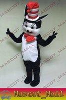 MALL124 Custom Seuss The Cat in The Hat Mascot Cartoon Costu...