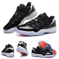 (With shoes Box) Hot Sale Retro 11 XI low Space Jams INFRARE...
