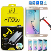 Screen Protector for Samsung S6 Edge Plus 3D curved Tempered...