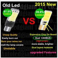 100PCS T10 168 T15 W5W COB LED High Power Signal Tail Turn B...