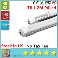 Stock In USA + 4ft led tube 18W 20w 22W free shipping T8 1. 2...