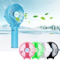 2000mAh recargable portátil de ventiladores de mesa Mini ventilador de mano de Pilas USB con paraguas colgantes y clip de metal