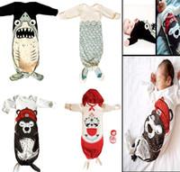 2016 New Infant Baby Mermaid Sleepsack Sleeping bags Baby co...