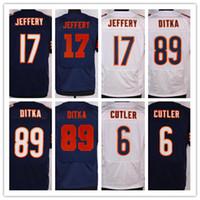 Drop Ship Men' s Bears Football Jerseys 34 Payton 17 Jef...
