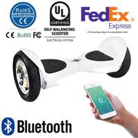 UL2272 10 pouces Smart Balance Wheel Bluetooth Hoverboard électrique Skateboard roue Monocycle Drift Auto équilibrage Scooter APP Control