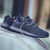 Boost 350 Kanye West Basketball Shoes 1: 1 Pirate Black Turtl...