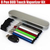 Colorful Bud touche vaporisateurs Starter Kit O Pen CE3 atomiseurs CDB huile épaisse épaisse cire de fumer Waxy Mini réservoir batterie 280mAh ecigs DHL