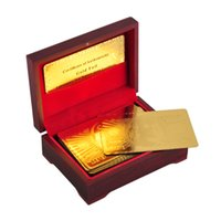 24K Gold Foil Plated Poker Card Playing Card Game High- grade...