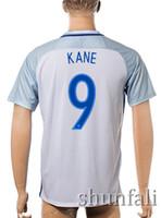 2016 Thai Quality European cup England Football shirt #10 RO...