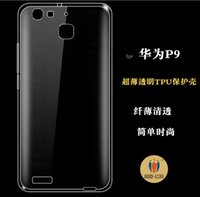 Ultra Thin Crystal Clear Soft TPU case cover For HUAWEI Asce...