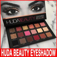 HUDA Beauty eyeshadow palette 18 colors Shimmer Matte Eyesha...