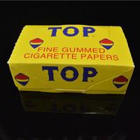 TOP Fine Gummed Cigarette Rolling Paper 72*40mm Perfectly Bl...