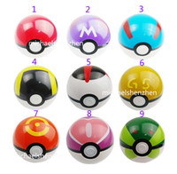 7cm Cute Pokémon Poke Ball 13 Colour Pokeball Mini Model Cla...