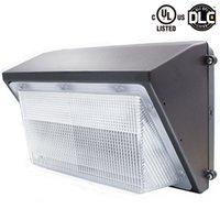 UL DLC Одобрить Открытый Светодиодный настенный пакет Light 60W 80W 100W 120W Промышленные Настенный светильник Daylights 5000K AC 90-277V С Mean Well Driver
