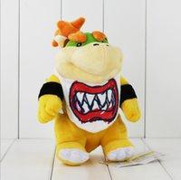 21cm Super Mario Koopa Bowser Plush Soft Stuffed Doll Toy fo...