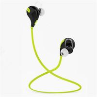 Auricular Bluetooth del deporte QCY QY7 Auricular estéreo sin hilos Mini auricular de Bluetooth con la caja al por menor del micrófono del Mic
