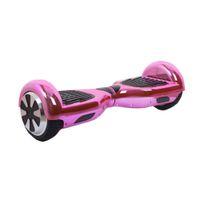 6,5 pouces Smart Balance Wheel Hoverboard électrique Skateboard monocycle Drift auto-debout Scooter-Chrome Rose