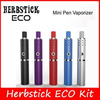 Authentic Herbstick ECO Kit E cigarette Capacité Kits Mini Vaporisateur Pen 2200mah Battery Kit Huge Vape Mod Kit VS Herbstick DELUXE