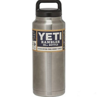 Yeti 36oz Рамблер 304 из нержавеющей стали Чашки Большой Capacit охладитель 36 унций YETI Рамблер массажер бутылки Автомобиль Кружка с двойными стенками Bilayer Вакуумные