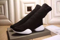 1: 1 RO 15SS Owens Men' s Stretch Fabric Flat ankle Boots...