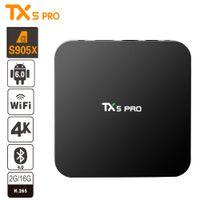 TX5 PRO TV BOX S905X 2GB 16GB Android 6. 0 Smart TV BOX Fully...