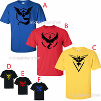 Poke Pattern T- shirts DHL 6 color men woman Camis Pikachu Je...