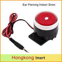 New Ear Piercing Indoor Siren Wired Mini Horne Siren Securit...