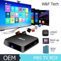 M8S KODI 16. 1 H. 265 4K Smart TV Box Amlogic S812 Quad Core 2...