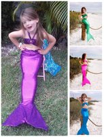 Children Costumes Mermaid Tail Swimwear 3- 14 Year Kids Swimw...