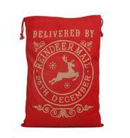 Christmas supplies Santa Claus bag gift bag drawstring Gift ...