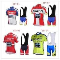 Summer Tinkoff SAXO BANK Team Cycling Jerseys Short Sleeve C...