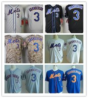 Free shipping New York Mets 3 Curtis Granderson 34 Noah Snyd...