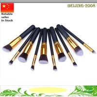 Professional Makeup Brushes Set 10pcs Portable Full Cosmetic...