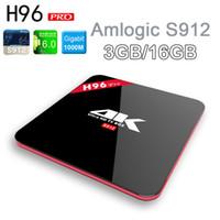 Lastest H96 PRO Android6. 0 TV Box Amlogic S912 Octa Core 3G ...