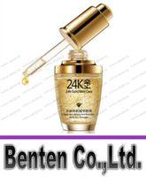 24K Gole blanchissant Hyaluronic Acid Essentials Face Care Anti Rides Anti Aging Collagène liquide peau Crème blanchissante hydratante VOL201