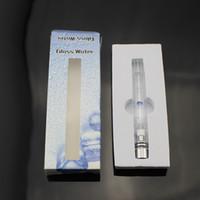 Pyrex verre Hookah pulvérisateur réservoirs Vaporisateur 5 couleurs Dry Herb cire stylo eau filtre pipe ecig e cig cigarette bong DHL Livraison gratuite