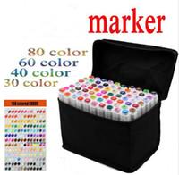 Art mark pen 168 color Alcohol Marker pen soluble pen cartoo...