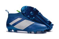 No lace- up Football Boots Outdoor ACE 16+ Purecontrol Soccer...