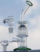 Bong! TORO Haute qualité Deux fonctions 13 / 7Arm perc verre bong pipes d'eau des plates-formes pétrolières avec seau de miel Livraison gratuite