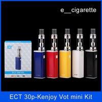 ECT 30P kit e cigarette box mod vape mod kenjoy vot mini ato...