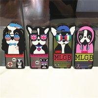 3D Sunglasses Dog Case for iphone 6s 6 plus Pet Animal Soft ...